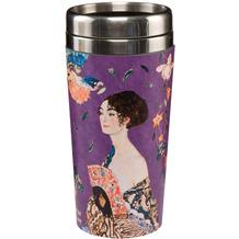 Goebel Mug To Go Gustav Klimt - Dame mit Fächer 17,5 cm