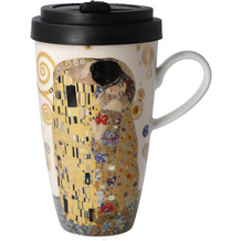 "Goebel Mug To Go Gustav Klimt - ""Der Kuss"" 15,0 cm"