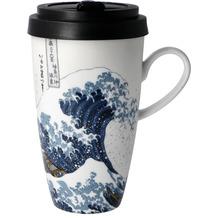"Goebel Mug To Go Katsushika Hokusai - ""Die große Welle"" 15,0 cm"