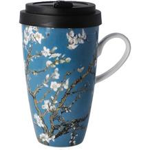 "Goebel Mug To Go Vincent van Gogh - ""Mandelbaum blau"" 15,0 cm"
