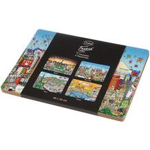 Goebel Platzsets Charles Fazzino 40,0 x 30,0 cm