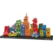 Goebel Pop Art James Rizzi Mini Skyline - Set