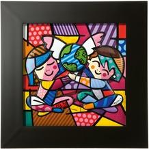 Goebel Pop Art Romero Britto Children of the World - Reliefbild