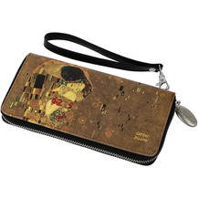"""Goebel Portmonnaie Gustav Klimt - """"Der Kuss"""" 10,0 cm"""