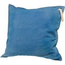 Goebel Scandic Home Scandic Home Aurora Aurora Blue - Kissen mit Ledergriff