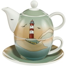 Goebel Scandic Home Scandic Home Wohnaccessoires Lighthouse - Tea for One