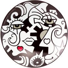 """Goebel Schale Billy The Artist - """"Two in One"""" 34,50 cm"""