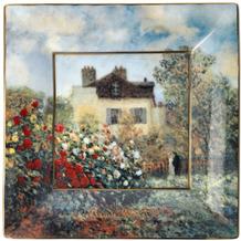 """Goebel Schale Claude Monet - """"Künstlerhaus"""" 16x16 cm"""