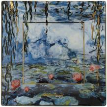 """Goebel Schale Claude Monet - """"Seerosen mit Weide"""" 1,5 cm"""