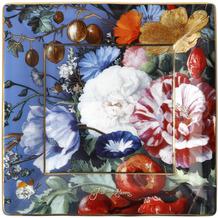 """Goebel Schale Jan Davidsz de Heem - """"Sommerblumen"""" 12,0 x 12,0 cm"""
