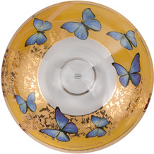 Goebel Schale Joanna Charlotte - Blue Butterflies 35,50 cm