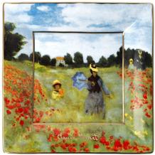 """Goebel Schale Claude Monet - """"Mohnfeld"""" 12 cm"""