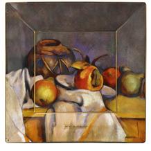 """Goebel Schale Paul Cezanne - """"Stillleben mit Birnen"""" 16x16x2 cm"""