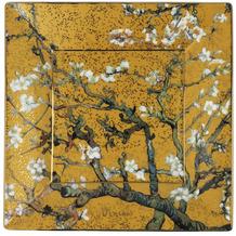Goebel Schale Vincent van Gogh - Mandelbaum Gold 16x16x2 cm