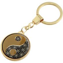 Goebel Schlüsselanhänger Lotus - Yin Yang 9,0 x 3,0 cm