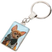 Goebel Schlüsselanhänger Trish Biddle - Dog 3,0 x 9,5 cm