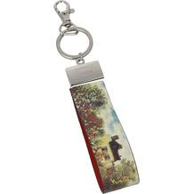 """Goebel Schlüsselband Claude Monet - """"Das Künstlerhaus"""" 16,0 cm"""