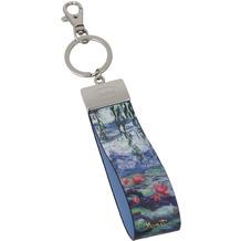 """Goebel Schlüsselband Claude Monet - """"Seerosen mit Weide"""" 16,0 cm"""