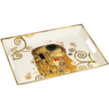 """Goebel Tablett Gustav Klimt - """"Der Kuss"""" 49 x 36 cm"""