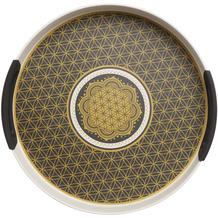 """Goebel Tablett Lotus - """"Blume des Lebens"""" 15,5 cm"""