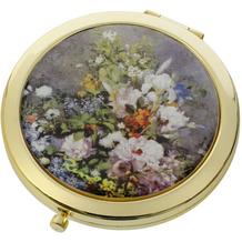 "Goebel Taschenspiegel Auguste Renoir - ""Frühlingsblumen"" 7,5 cm"