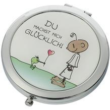 Goebel Taschenspiegel Der kleine Yogi - Du machst mich glücklich 7,5 cm