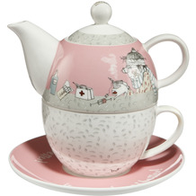 "Goebel Tea for One Barbara Freundlieb - ""Get Better"" 15,5 cm"