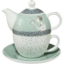 "Goebel Tea for One Barbara Freundlieb - ""Prinz oder nicht"" 15,5 cm"