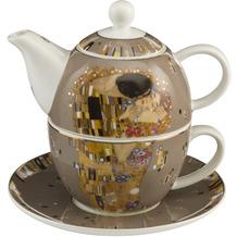 """Goebel Tea for One Gustav Klimt - """"Der Kuss"""" 15,5 cm"""