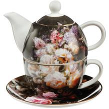 "Goebel Tea for One Jean Baptiste Robie - ""Stillleben mit Rosen"" 15,5 cm"