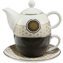 Goebel Tea for One Lotus - Blume des Lebens 15,5 cm