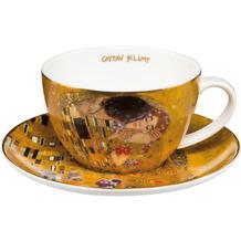 Goebel Tee-/ Cappuccinotasse Gustav Klimt - Der Kuss 6,5 cm