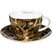 Goebel Tee-/ Cappuccinotasse Gustav Klimt - Der Lebensbaum 6,5 cm