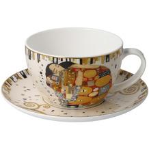 Goebel Tee-/ Cappuccinotasse Gustav Klimt - Die Erfüllung 7,0 cm