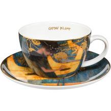 Goebel Tee-/ Cappuccinotasse Gustav Klimt - Die Musik 6,5 cm