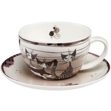 Goebel Tee-/ Cappuccinotasse Rosina Wachtmeister - Carota con amici 7,0 cm