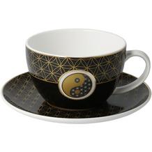 Goebel Tee-/ Cappuccinotasse Yin Yang Schwarz 7,0 cm