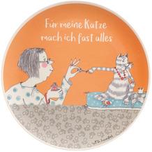 """Goebel Teller Barbara Freundlieb - """"Für meine Katze"""" 25,5 x 1,5 cm"""