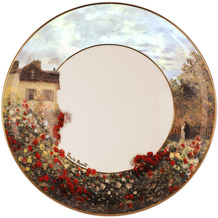 Goebel Teller Claude Monet - Das Künstlerhaus ø23 cm