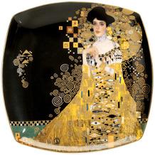 Goebel Teller Gustav Klimt - Adele Bloch-Bauer 21 x 21 cm
