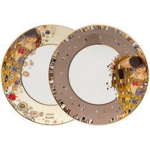 """Goebel Teller Gustav Klimt - """"Der Kuss"""" ø23 cm"""