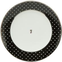 "Goebel Teller Maja von Hohenzollern - Design ""Dots"" 23,0 cm"