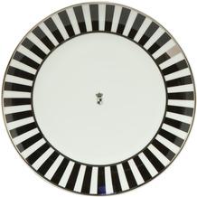"Goebel Teller Maja von Hohenzollern - Design ""Stripes"" 23,0 cm"