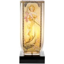 """Goebel Tischlampe Alphonse Mucha - """"Die vier Jahreszeiten"""" 34,0 cm"""