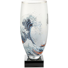 "Goebel Tischlampe Katsushika Hokusai - ""Die Welle"" 33,0 cm"