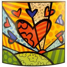 "Goebel Tischlampe Romero Britto - ""A New Day"" 25,0 cm"