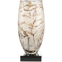 "Goebel Tischlampe Vincent van Gogh - ""Mandelbaum silber"" 39,0 cm"
