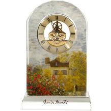 """Goebel Tischuhr Claude Monet - """"Das Künstlerhaus"""" 15,0 x 23,0 cm"""