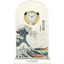 "Goebel Tischuhr Katsushika Hokusai - ""Die Welle"" 11,0 x 18,5 cm"