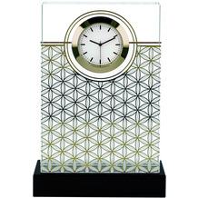 "Goebel Tischuhr Lotus - ""Blume des Lebens"" 10,5 x 15,5 cm"